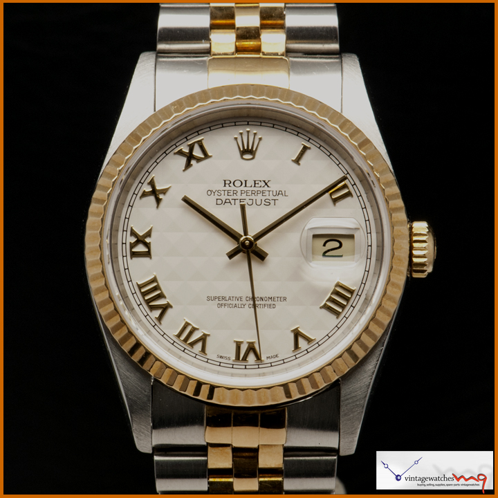 Rolex Ref 16233 Steel Amp Gold Datejust