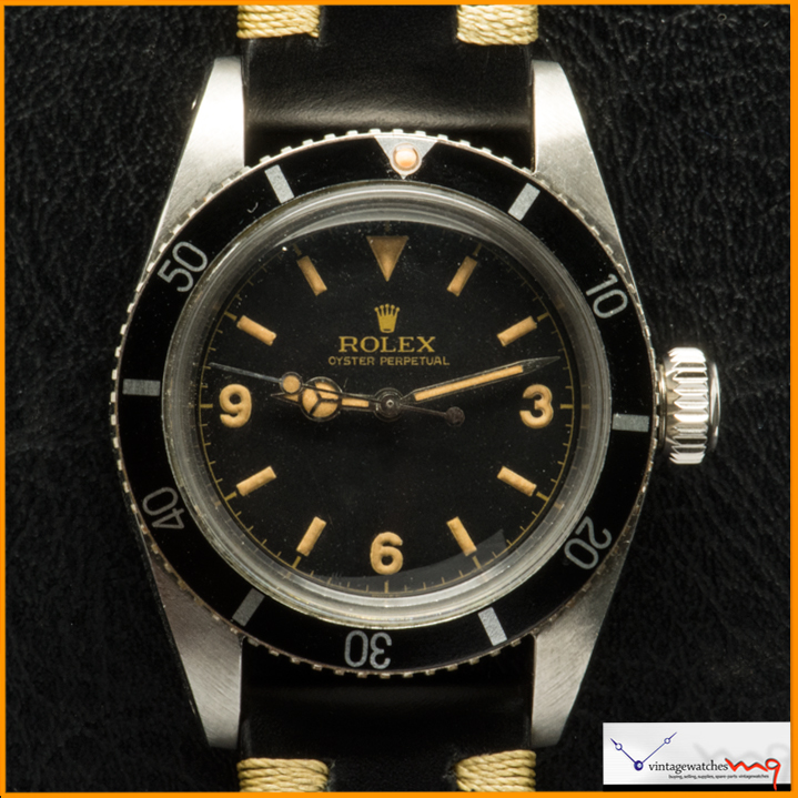 Rolex Submariner Ref 6200 Come With Gilt Dial 3 6 9 Rare