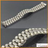 Bracelet Rolex Day Date 18K White Gold Original Very good Condition ! Stock #18-BORI
