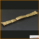 Bracelet Rolex Genuine Solid Gold 9K Size 19mm Rivet expande for Vintage Rolex Daytona Rare ! Stock #08-BORI
