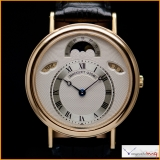 Breguet Classique Day-Date-Moonphase Case 18K Yellow Gold