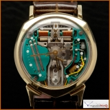 Bulova Accutron Case 14K Yellow Gold