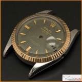 Case Rolex Oyster Perpetual, Date, Officially Certified Chronometer Ref 6534 Stainless Steel case and Gold Bezel Original