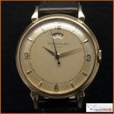 Jeager Lecoultre Powermatic Powerwind Case 18K Gold