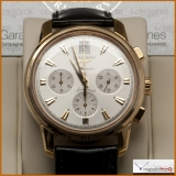 Longines Heritage Conquest 18K Rose Gold Automatic Chronograph W