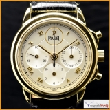 PIAGET Ref 15978, GOUVERNEUR 18K Yello Gold Manually Winding Chronograph. Manufacyured in 1992