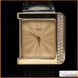 Roberge Wrist Watch 18G Yellow Gold with Factory Diamonds Original