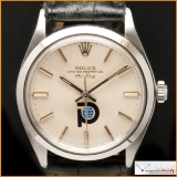 Rolex Air King Ref: 5500 with Pool Intairdril Logo Rare  !