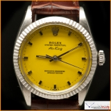 "Rolex Air King Ref 1500 Custom Yellow Color ""Popcorn"""