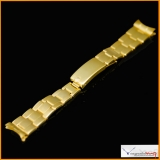 Rolex Bracelet 7205 Genuine Swiss Vintage 14K Yellow Gold 19mm with End Link 57 for Rolex Daytona 6263 - 6265 Rare! Stock #41-BORI-DAY