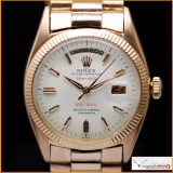 "Rolex Day-Date 6511 with Bracelet 18K Pink Gold ""Second Generation"" Very Rare !"
