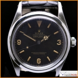 Rolex Explorer 1 Ref 5504 Gilt and Glossy Chapter Ring Dial Rare !