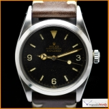Rolex Explorer I Ref 6610 Gilt Dial with Gold Git Hands Original Rare !