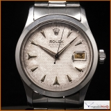 Rolex Oyster Date Perpetual Ref 6518 Honeycomb Dial Rare !!