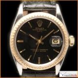Rolex Oyster Perpetual Date Ref 1505 Depth Gilt Dial Rare !