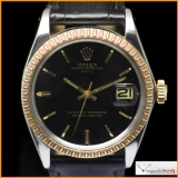 Rolex Oyster Perpetual Date Ref 1505 with Gilt Dial Rare !