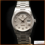 Rolex Platinum Day-Date Ref 18206 Rare!