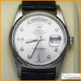 Rolex President Men's - Day-Date Ref 18239 Case 18K White Gold