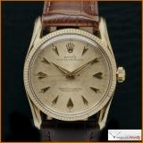 Rolex Ref 1011 Gold Case 14K Bombay Lugs