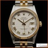 Rolex Ref 16233  Steel & Gold  Datejust