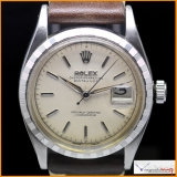 Rolex Stop Watch of DateJust Ref.6305 Large Bubble Back Movement Rare!