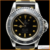 Tudor Submariner Ref 7928 Gilt & Glossy with Rose Logo Rare !
