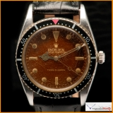 Rolex Turn-O-Graph Ref. 6202 Gilt Tropical Brown Dial Very Rare !
