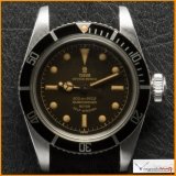 Tudor Submariner Ref 7922 come with Depth Gilt Dial Rose Logo.