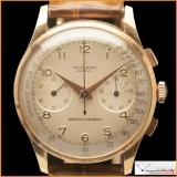 Universal Genève Medico-Compax Chronograph Case 18K Rose Gold
