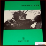 Vintage Booklet 1966 Rolex Submariner 5512 Brochure / Pamphlet Stock #09-PRO