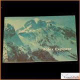 Vintage Booklet Rolex Explorer Year 1970 . Geneve  572 - 27 - 21 Stock #06-PRO